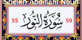 Surah Al Nour 55 – 59